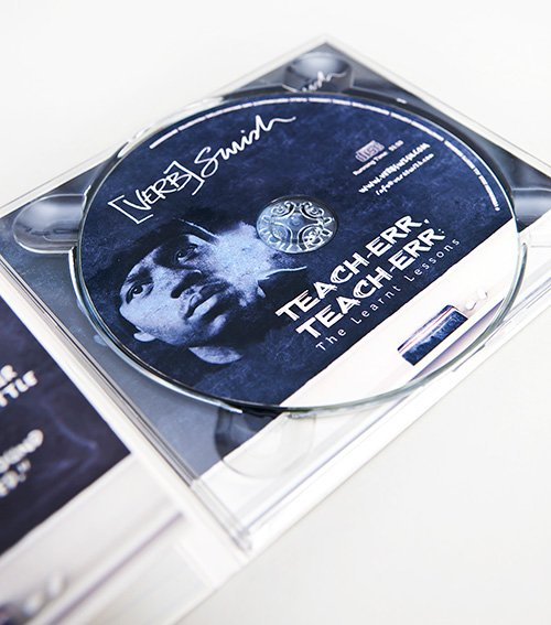 Verb Swish CD tray and disc
