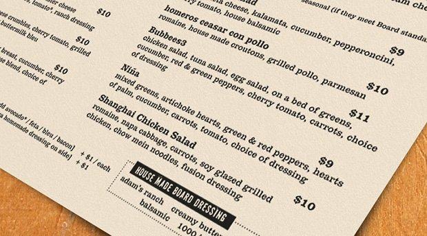 deli board sf lunch menu details