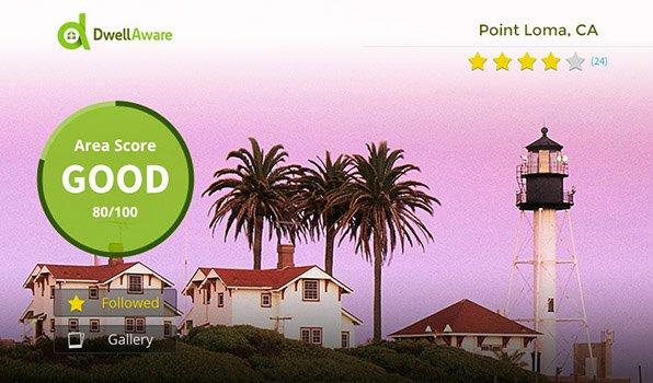 DwellAware Neighborhood Page