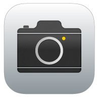 iOS 8 camera icon