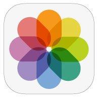 iOS 8 photo icon