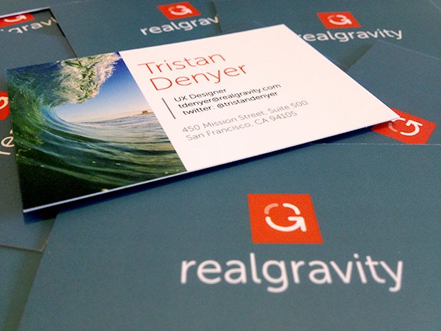 realgravity business cards