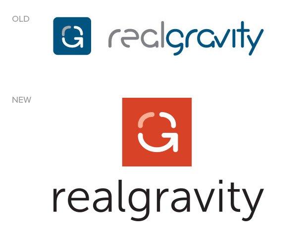 RealGravity logo refresh