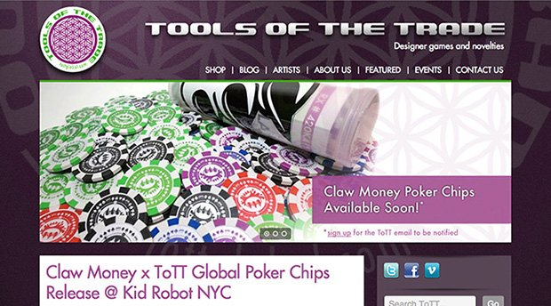 Tools of the Trade website