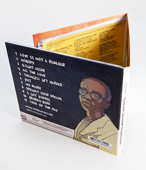 Verb Swish CD back cover