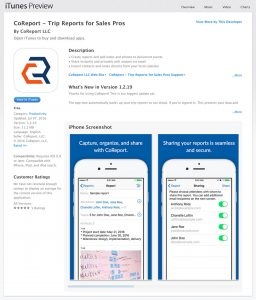 CoReport on the App Store